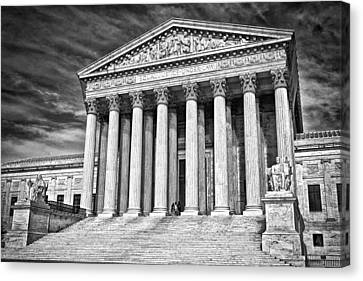 Supreme Court Building 2 Canvas Print by Val Black Russian Tourchin