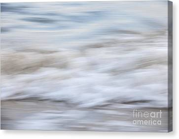 Surf Abstract 1 Canvas Print by Elena Elisseeva