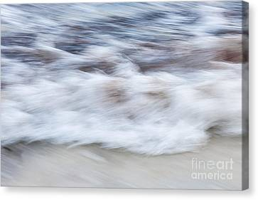 Surf Abstract 2 Canvas Print by Elena Elisseeva