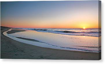 Surf And Sand II  Canvas Print by Steven Ainsworth