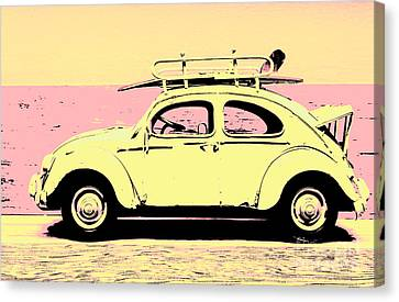 Surf Bug Popart Poster  Canvas Print by Jorgo Photography - Wall Art Gallery
