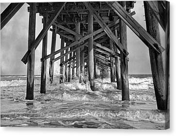 Jolly Roger Pier A Dreamer's Day Canvas Print