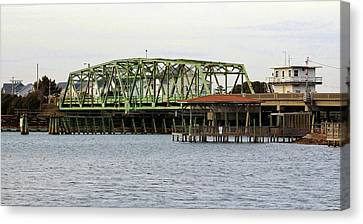 Surf City Swing Bridge Canvas Print