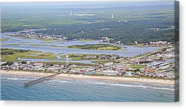 Surf City Topsail Island Sw Canvas Print