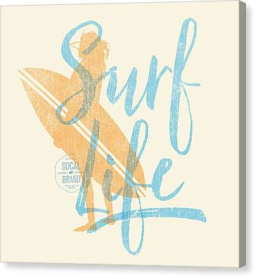 Surf Life 2 Canvas Print by SoCal Brand