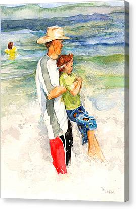 Surf Play Canvas Print