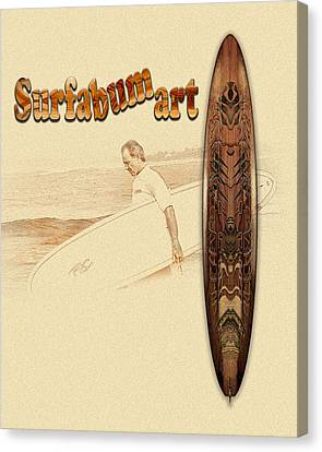 Surfabumart 10 Canvas Print