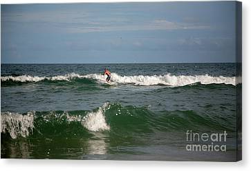Surfing Magazine Canvas Print - Surfer  by April Canada