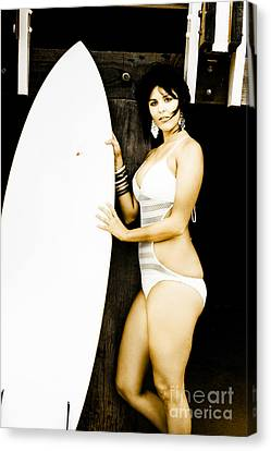 Surfer Lifestyle Canvas Print by Jorgo Photography - Wall Art Gallery