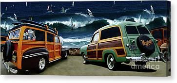 Surfer's Paradise Canvas Print by Bob Christopher