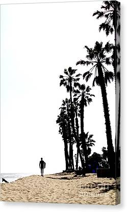 Canvas Print - Surfers Point Ventura by Linda Queally