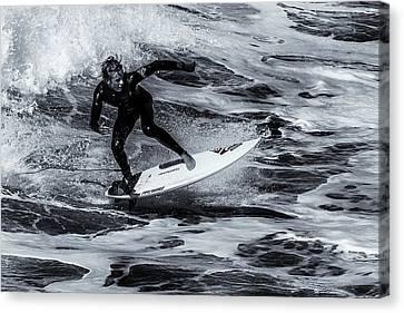 Surfing Air Canvas Print by Thomas Gartner