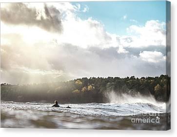 Surfing Magazine Canvas Print - Surfing Sweden by Hampus Torbjornsson