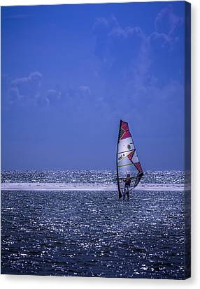 Surfing The Wind Canvas Print