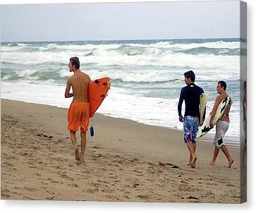 Surfs Up Boys Canvas Print