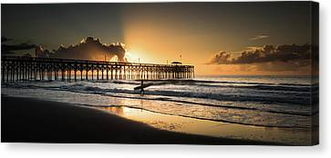 Surf's Up Canvas Print by Ivo Kerssemakers