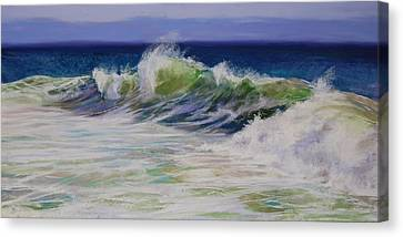 Surfs Up Canvas Print by Jeanne Rosier Smith