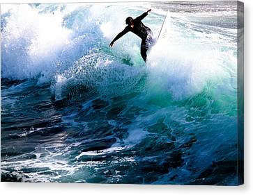 Canvas Print - Surfs Up by Magdalena Green