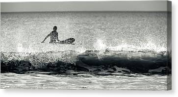 Surf's Up Canvas Print by Veteran Photography