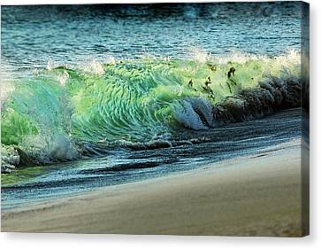 Surging Water Canvas Print by Kelley King