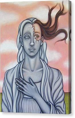 Surprise Canvas Print by Allison Hill