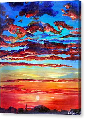 Surprise Ending Canvas Print by Suzanne King