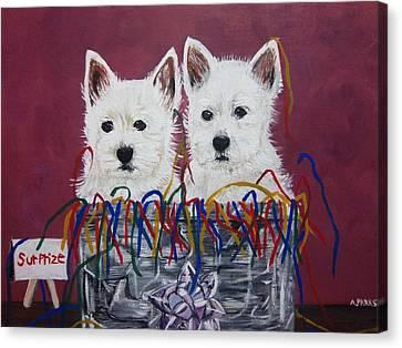 Surprize Canvas Print by Aleta Parks