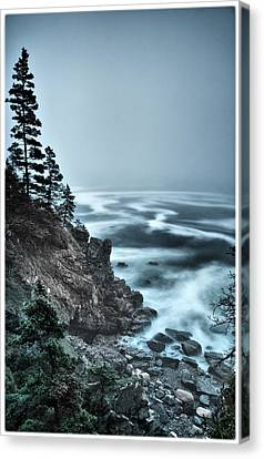 Surreal Acadia Canvas Print by Chad Tracy