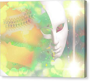 Exoticism Canvas Print - Surreal Illustration by Anthony Caruso