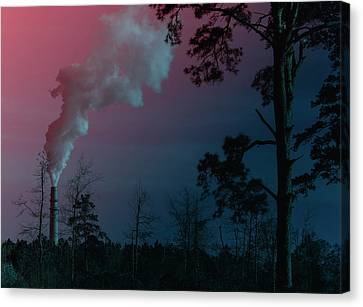 Surreal Sky Canvas Print by Jim Cook
