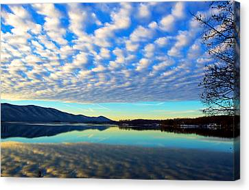 Surreal Sunrise Canvas Print by The American Shutterbug Society