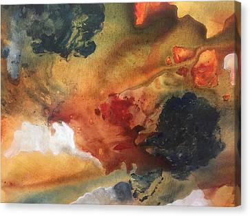 Surreal Sunrise Canvas Print by Lori Thompson