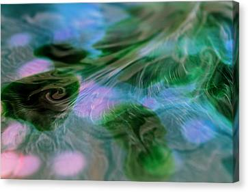 Canvas Print featuring the photograph Surreal Waters V2 by Rico Besserdich