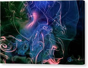 Canvas Print featuring the photograph Surreal Waters V3 by Rico Besserdich