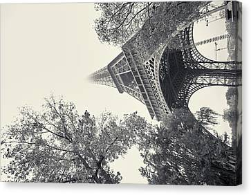 Canvas Print featuring the photograph Surrealistic Tower by Richard Goodrich
