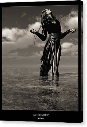Surrender Canvas Print by Everett Houser