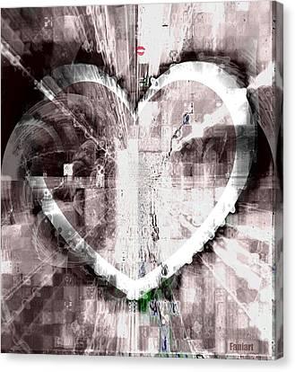 Surrender Canvas Print by Fania Simon