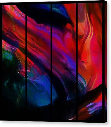 Surrender Canvas Print by Karo Evans