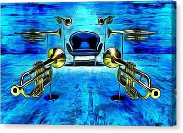 Surround Sound Canvas Print by Leonardo Digenio