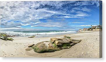 Surf Lifestyle Canvas Print - Surrounded By Beauty by Peter Tellone