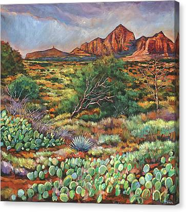 Prescott Canvas Print - Surrounded By Sedona by Johnathan Harris