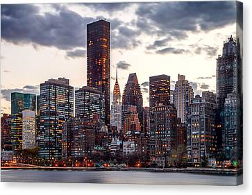 Surrounded By The City Canvas Print