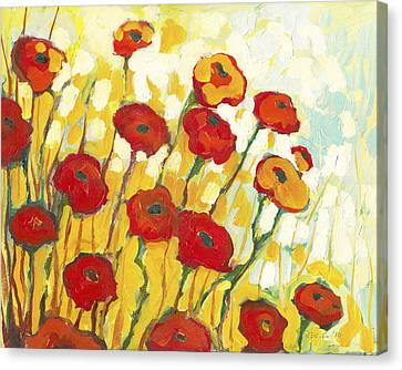 Impressionism Canvas Print - Surrounded In Gold by Jennifer Lommers