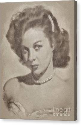 Susan Hayward, Actress Canvas Print