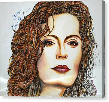 Susan Sarandon Canvas Print