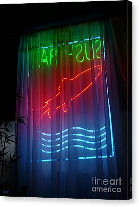 Sushi Bar Canvas Print by Jeff Breiman