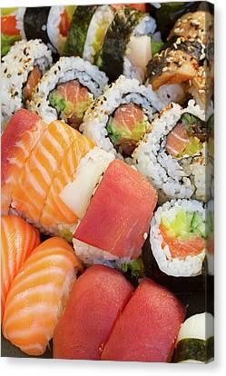 Sushi Dish Canvas Print