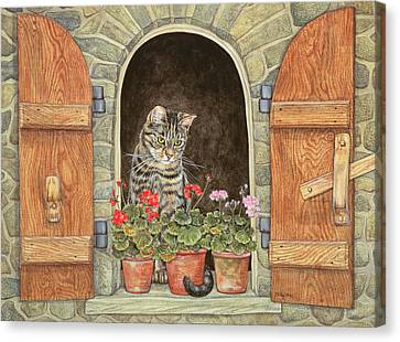 Susie's Window Canvas Print by Ditz