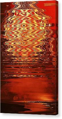 Suspended Belief Canvas Print by Anne-Elizabeth Whiteway