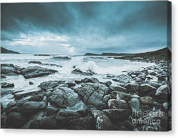 Suspenseful Seas Canvas Print by Jorgo Photography - Wall Art Gallery